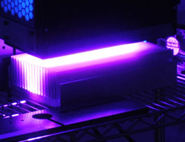 UV LED curing unit