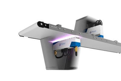 UV LED technology for conveyor